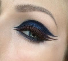 Triple eyeliner by Lina Dance Makeup, Lovely Eyes, No Eyeliner Makeup, Brainstorm, Makeup Ideas, Fashion Beauty, Make Up, Hairstyles, Board