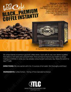 TLC's Iaso Café Black | Premium Coffee – Total Life Changes™ www.totallifechanges.com/5698171