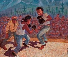 Camp Navajo Pugilists circa 1940 * Click on the image for additional details.