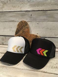 Items similar to Women s Chevron Snapback Trucker Hat on Etsy 50ca876bb3f