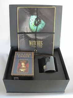 Witches of East End Press Kit w/Tarot Cards, Spell Candle, DVD, MORE MINT!