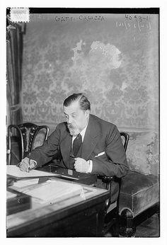 "Gatti - Casazza (LOC)""Giulio Gatti-Casazza (3 February 1869 – 2 September 1940) was an Italian opera manager. He was general manager of La Scala in Milan, Italy (1898-1908) and later the Metropolitan Opera in New York City (1908-1935)."""