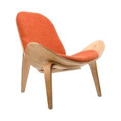 Wings Chair in Orange | dotandbo.com