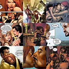 Love Pepperony in the Marvel comics.