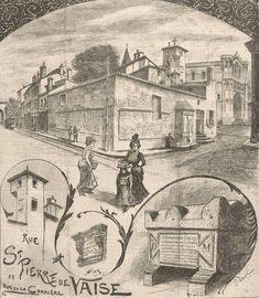 A Lyon 9 l'église Saint-Pierre Vaise se trouve au croisement de la rue éponyme et du boulevard Antoine-de-Saint-Exupéry (anciennement rue de la carrière qui comprenait de nombreuses carrières de pierres). L'église est construite au 11e s sur un ancien lieu de culte. Elle est entièrement rebâtie au 17e puis au 19e s. C'est lors de ces derniers travaux que les bâtiments emploient un style néo-roman très en vogue à l'époque qui reprend les codes architecturaux des 11e et 12e s. #numelyo…