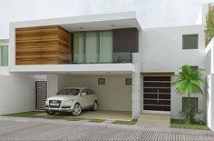 Olá! Ao longo desta semana nossa equipe reuniu 15 modelos de fachadas de casas que serão apresentados neste post. A fachada é o cartão de visita de uma casa e