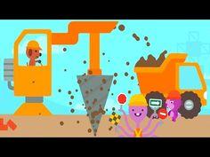 Fun Sago Mini Games - Kids Build Fun Amazing Home Construction Building Sago Mini Trucks And Diggers - YouTube