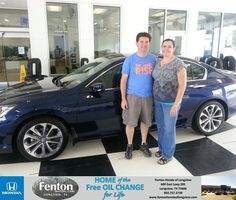 Congratulations to Kevin Ray on your new car   purchase from Alton Mcalister at Fenton Honda of Longview! #NewCar