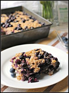 Meyer Lemon Blueberry Baked Oatmeal     1 Meyer lemon, zested and juiced  2 cups nonfat milk  2 1/2 cups old-fashioned rolled oats  1 tsp baking powder  1/2 tsp kosher salt  1/2 tsp nutmeg  1/2 tsp cinnamon  2 Tbsp butter, melted and cooled  1 egg  1/3 cup sugar  2 cups blueberries, fresh or frozen