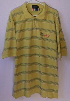 Mens Coogi Australian XXXL Polo Dress Shirt Short Sleeve