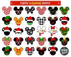 Christmas Disney Svg Christmas Bundle Svg Mickey M Disney Halloween, Disney Christmas Shirts, Minnie Mouse Christmas, Disney Home Decor, Christmas Crafts, Disney Christmas Nails, Xmas, Disney Nails, Bricolage Noel