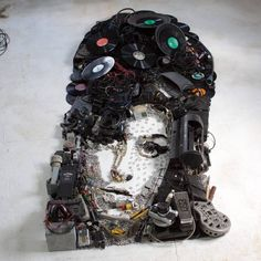 Portraits Created with Music Instruments and Objects – Fubiz Media