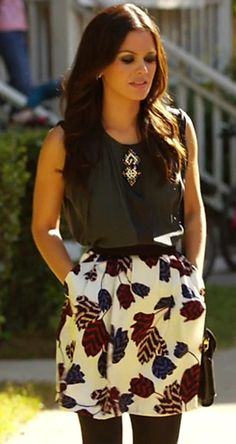 Zoe Hart in Marc by Marc Jacobs skirt | Hart of Dixie
