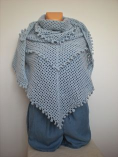EmmHouse: The Spring is starting, #crochet, free pattern, wrap, shawl, #haken, gratis patroon (Engels), omslagdoek, #haakpatroon