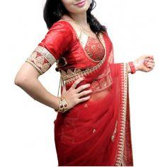 http://tanuzstore.in/Women/Jayati's-dress-designs/Ready-Pleated-Red-Net-Sari