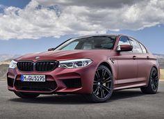 BMW | M5 - First Edition | Frozen Dark Red