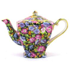Royal Winton Majestic Ascot Shaped 2-Cup Teapot | eBay