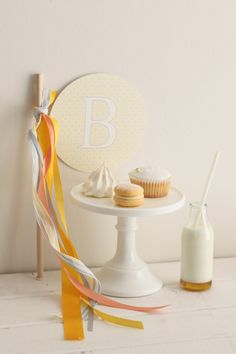 Sweet as Honey - twist on the Bee theme. Love the wand banner, honey goodies, & of course, the milk & honey!