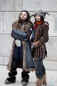 To Dungeons Deep and Caverns Old... Kickass Hobbit Cosplay!