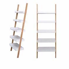 estantería de madera paraiso diseño deco mueble biblioteca