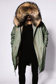 1d2ae14a9e9 NY PARKA < Danish design handmade in italy inspired by New York City >  Custommade luxury fur parka jackets and coats