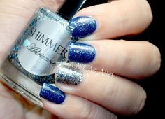 Shimmer Polish Adrienne  by I'm A Nail Art Addict!