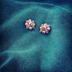 Handmade Beaded Jewelry, Earrings Handmade, Swarovski, Brooch, Create, Brooches