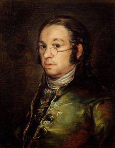 Francisco de Goya (1746-1828) - 'Self portrait with glasses'