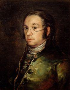 Francisco de Goya (1746-1828) - 'Self portrait with glasses'