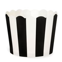 "Paper Baking Cups-Black/White Stripe  ""#Ruffled for #TheLab2013: http://ruffledblog.com/the-lab-event-giveaway"""