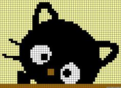 This Pin was discovered by Све Cute Cross Stitch, Cross Stitch Animals, Cross Stitch Charts, Cross Stitching, Cross Stitch Embroidery, Embroidery Patterns, Intarsia Knitting, Knitting Charts, Alpha Patterns