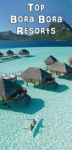 Bora Bora Pearl Beach Resort and Spa Top Bora Bora Resorts TBora Bora is a wonderful Tropical Island in French Polinesia in the Pacific. See all the reviews of the top Bora Bora luxury, hineymoon and vacation resorts #honeymoon #resort #bora bora