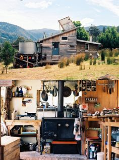 Utilitarian #off-grid #sustainable #eco