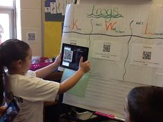 Using Padlet, QR Codes, & iPads in the classroom!