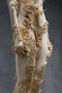 3) Aron Demetz - The Tainted (2012) - Distressed wood