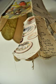 Paper Lamp Shades from Jennifer Collier.  Oh boy I am going to have fun making these.