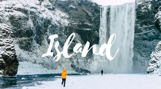 Island im Winter