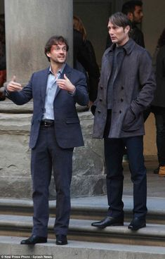 Strange bond: Will Graham is the closest thing twisted anti-hero Hannibal has to a friend...
