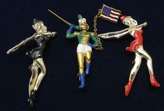 Majorette Pins Marching Band Enamel