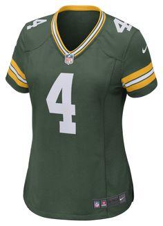 7e97b9cf373 Nike Nfl Green Bay Packers Game Jersey (Brett Favre) Women's Football - S