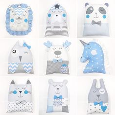 Baby Pillows, Kids Pillows, Quilt Baby, Baby Nursery Diy, Diy Baby, Baby Crib, Baby Sewing Projects, Baby Crafts, Baby Decor