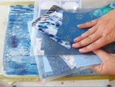 Exploring the colour blue. creative color energy workshop color journal http://louisegale.com/workshops/