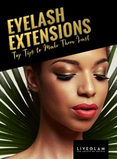 9e913c49f20 Is it your first time with eyelash extensions? We've got our top tips to  make them last and keep them looking beautiful for longer! LiveGlam