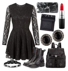 """""""style 2502"""" by bellaannabella ❤ liked on Polyvore featuring John Zack, rag & bone, Proenza Schouler, Givenchy, MAC Cosmetics, Casetify and NARS Cosmetics"""