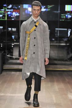 Kenneth Ning Fall-Winter 2017 - New York Fashion Week Men's - Male Fashion Trends
