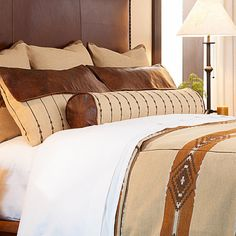 View High Camp Home's collection of log cabin bedding & bedroom sets online. Create a rustic style and feel for any cabin bedroom. Neutral Bedding, Peregrine, Bedroom Bed, Log Homes, Home Collections, Rustic Style, Accent Pillows, Bedding Sets, Home Furnishings