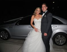Amanda looked spectacular at Yarra Ranges Estate. chauffeured the new couple in Silver Caprice sedan. Ranges, Melbourne, Amanda, Luxury, Couples, Wedding Dresses, Silver, Beautiful, Style