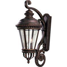 Castle Grecian Bronze Outdoor Lantern