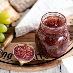 Viikunahillo - Reseptejä Fig Jam, Jam Recipes, Marmalade, Antipasto, Preserves, Plum, Dips, Pudding, Sweets