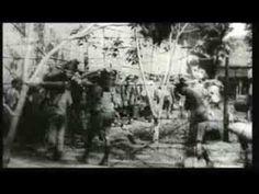 Nederlands Indië compilatiefilm 1 Jappenkamp Tjideng